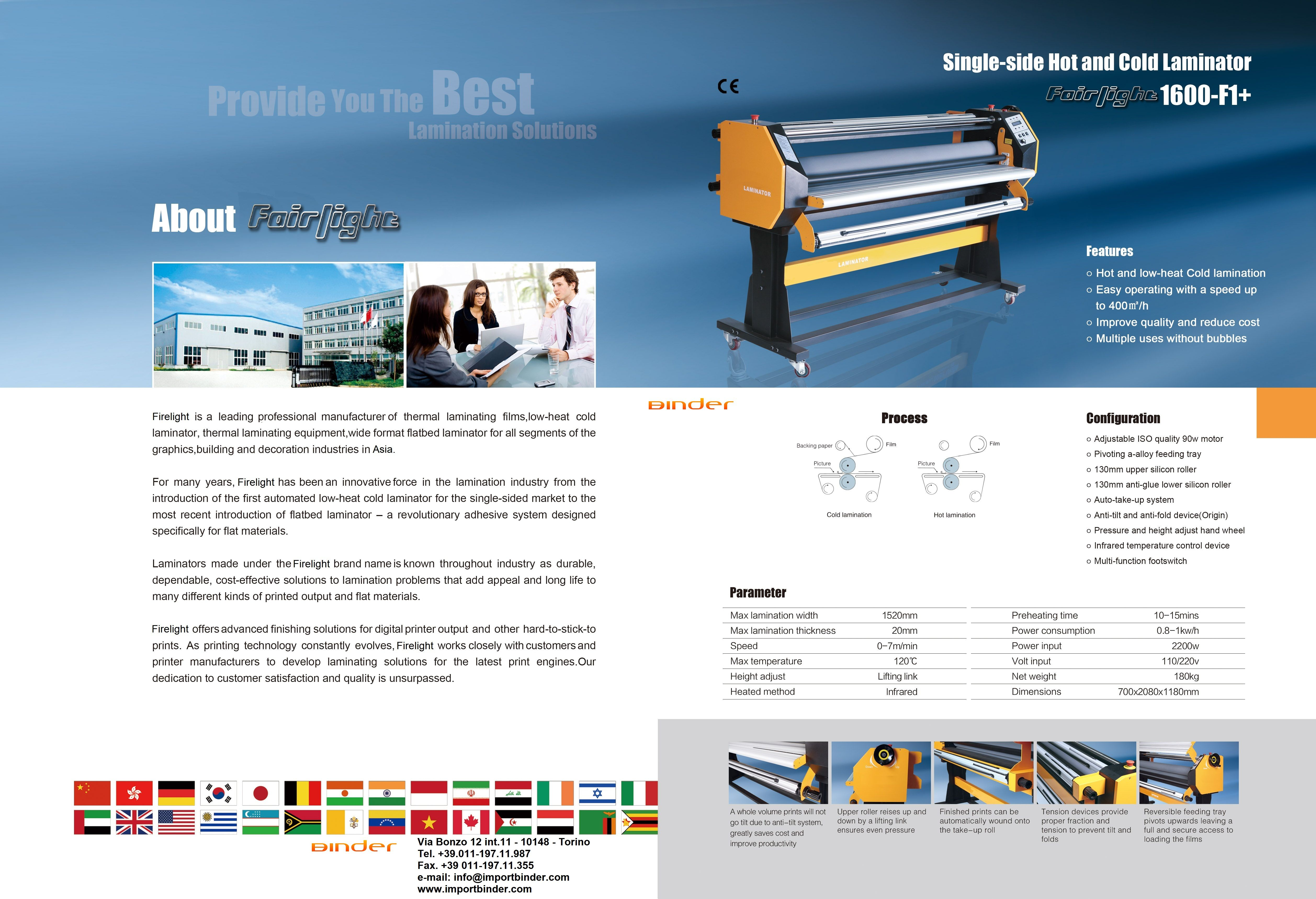 Reduce Cost Improve Quality Good Color Reducibility Absolutely No Air Bubbles And Snow Points High Efficiency And Yields The Legatoria Affido Tipografia