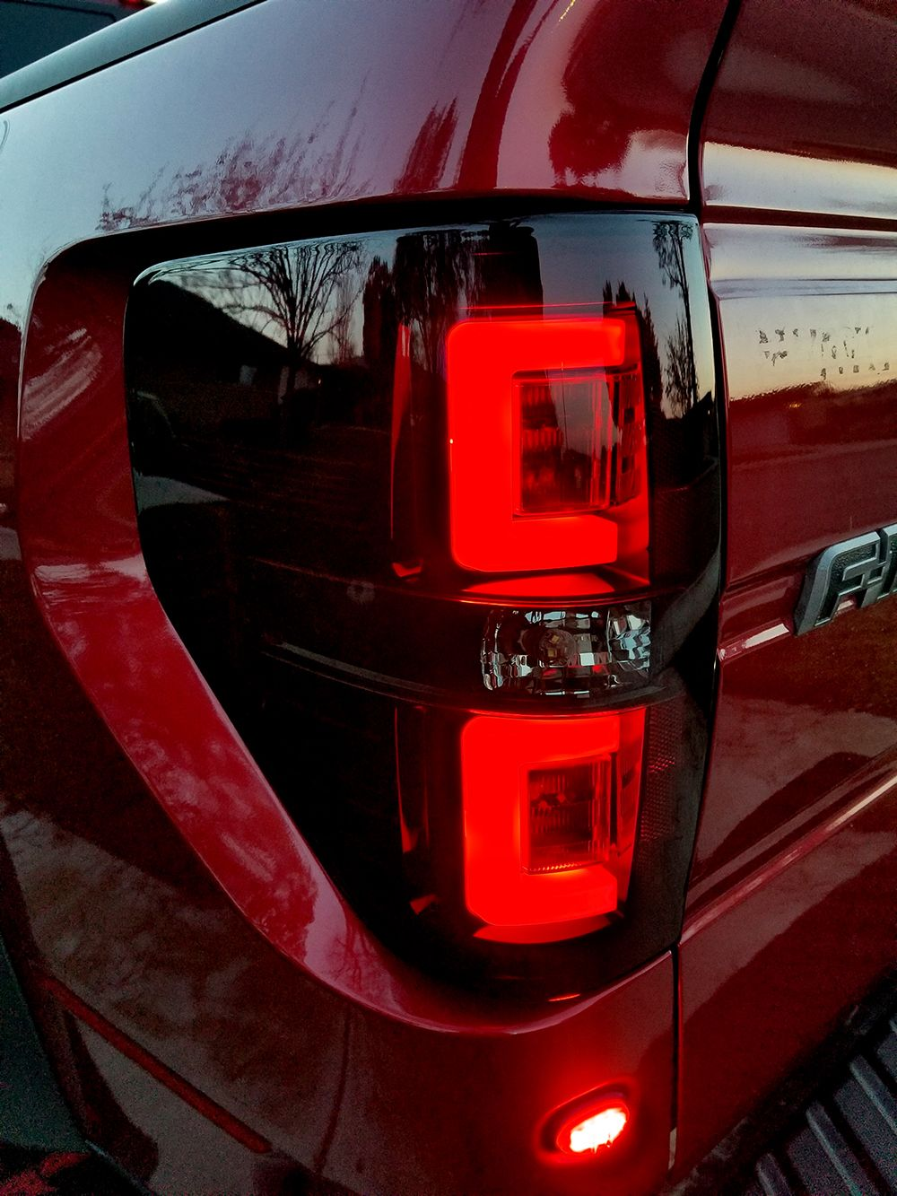 Ford f150 raptor oled taillights truck car parts 264368rbk recon truck accessories