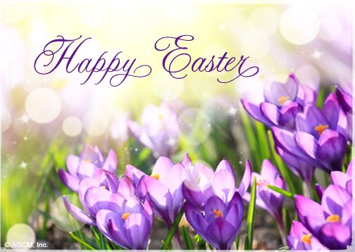 Happy Easter To all my Facebook Friends Family – Easter Greeting Card Sayings