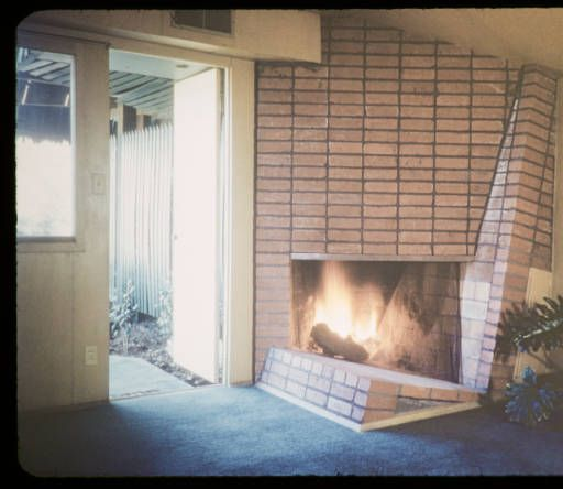 Kallis residence, Hollywood, Los Angeles, Calif., 1947 :: Architectural Teaching Slide Collection