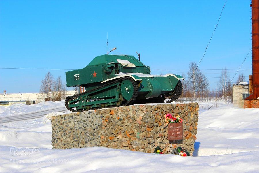 Popular on 500px : Танкетка Т-27 by fendrikjv