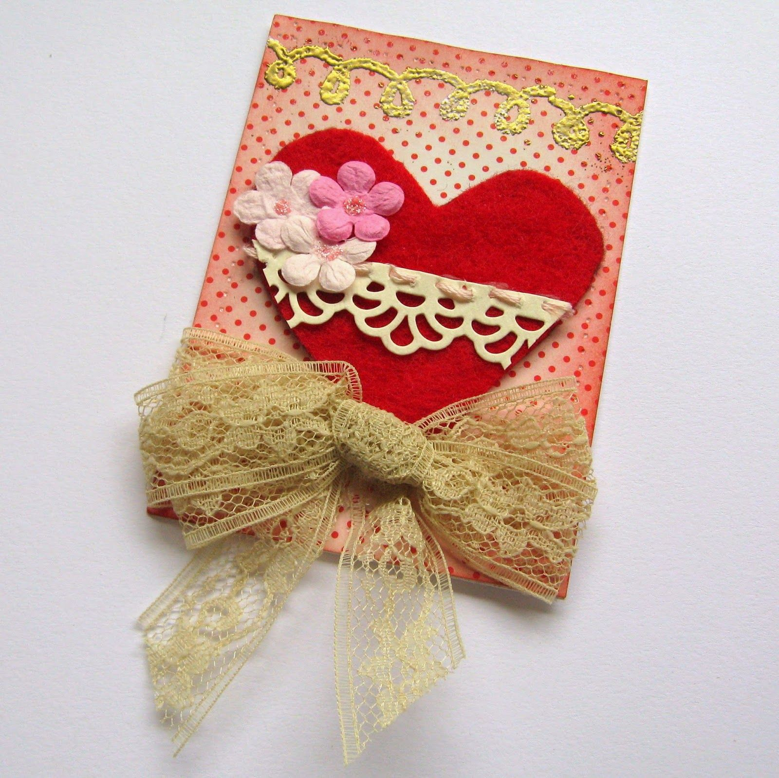 ATC Theme: Vintage Valentine