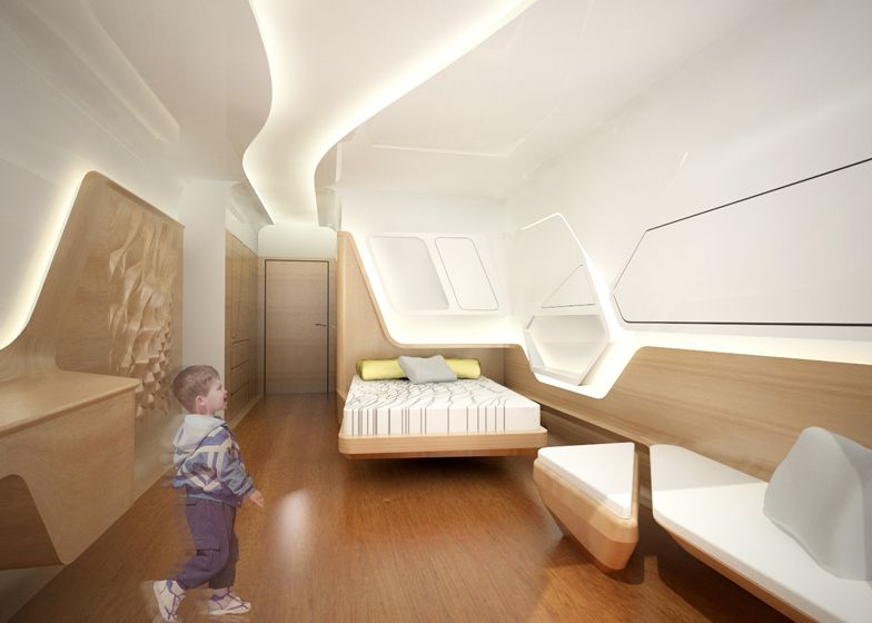 Zaha Hadid Designs Apartment For Ronald Mcdonald Charity House Zaha Hadid Architects