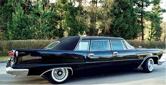 1957 Ghia Crown Imperial Limousine With Images Chrysler