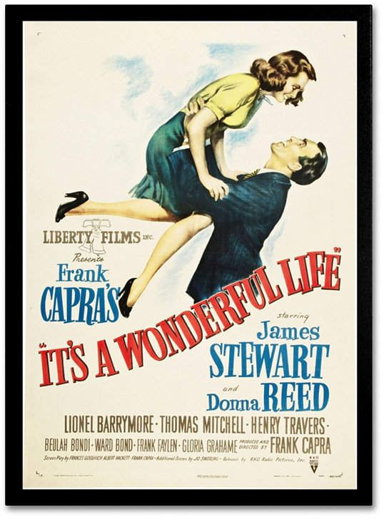 Trademark Global Vintage Apple Collection 'It's a Wonderful Life' Canvas Art - 19  x 14  x 2