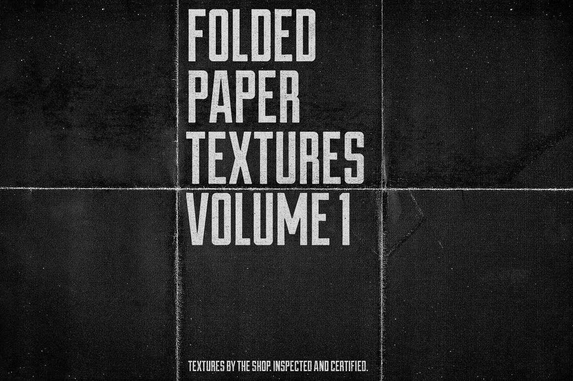 Folded Paper Textures Volume 01 Folded Paper Texture Paper Texture Paper Texture Pack