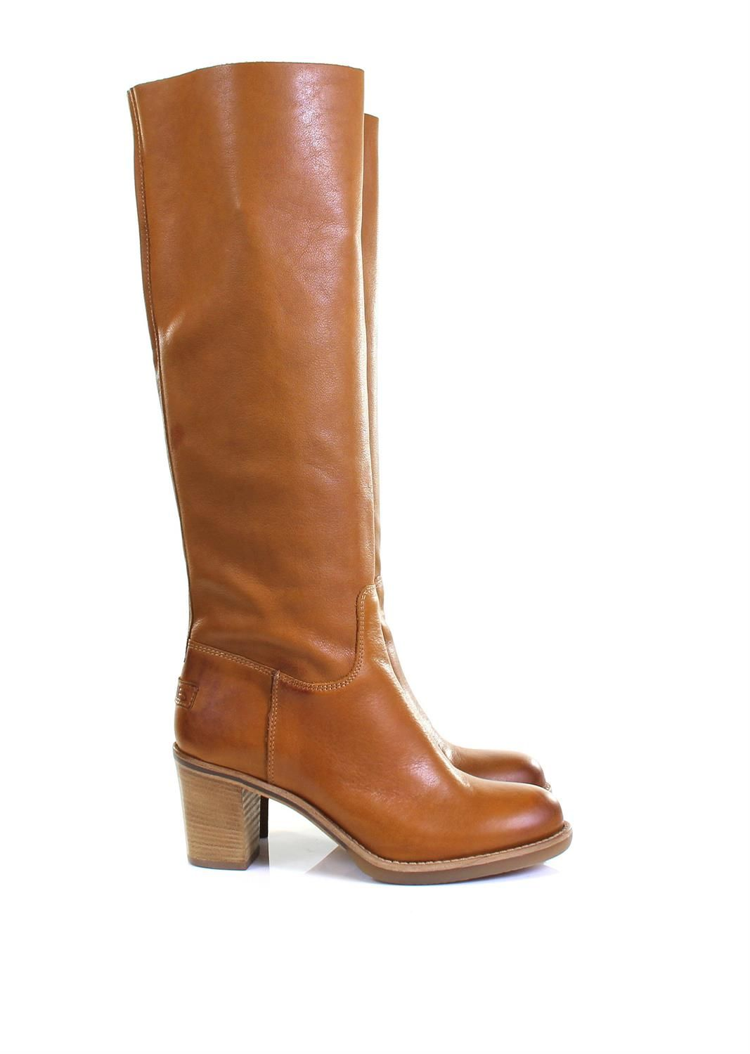 Shabbies Amsterdam Bottines cognac