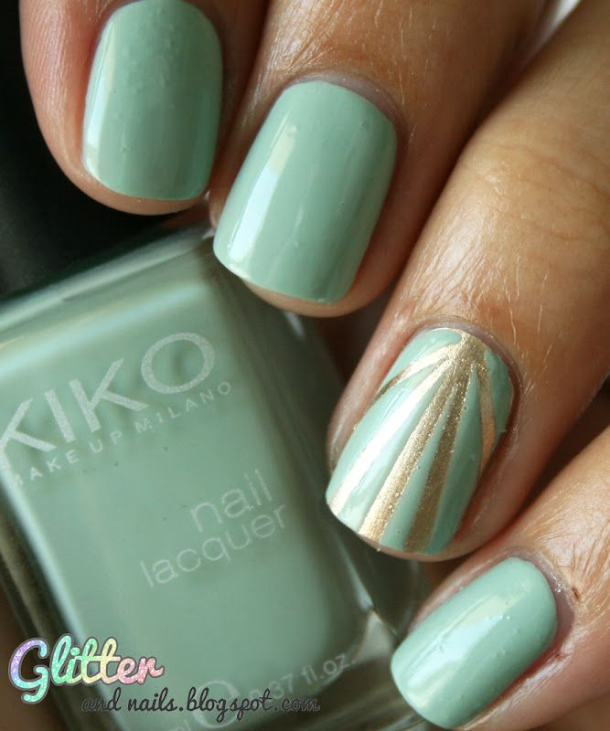 Glitter and Nails: Sunlight & Pastel : Essie Good As Gold + Kiko ...