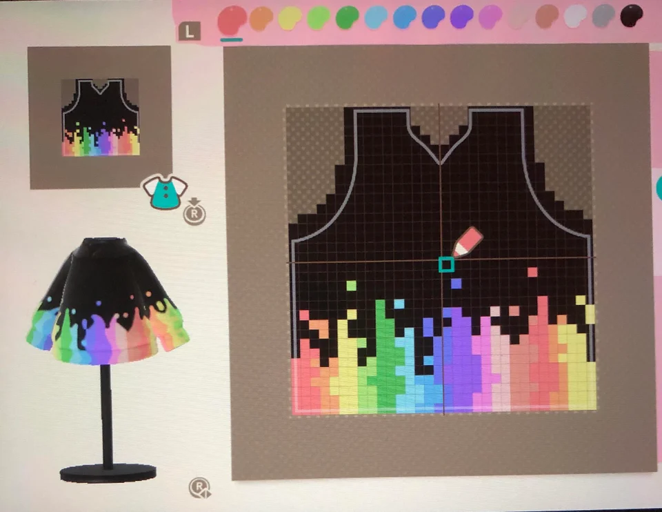 Here S A Hoodie I Made Animalcrossing Animal Crossing Animal Crossing 3ds Animal Crossing Town Tune