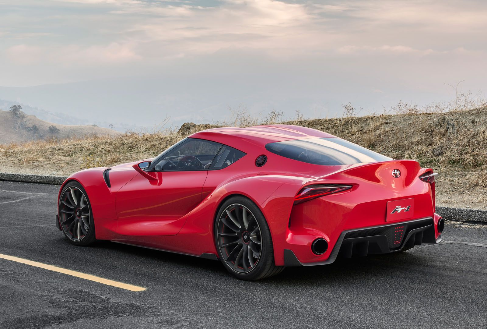 Toyota Ft 1 >> Toyota Ft 1 Concept How Gran Turismo Helped Design The