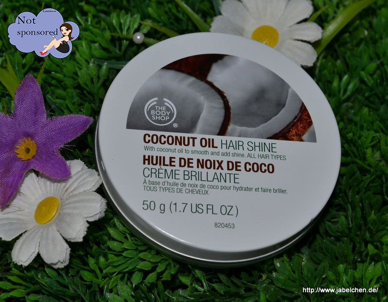 {Review} The Body Shop Coconut Oil Hair Shine