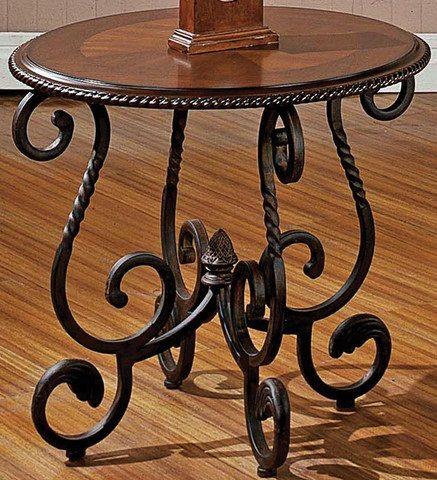Wrought Iron End Tables Living Room S Izobrazheniyami
