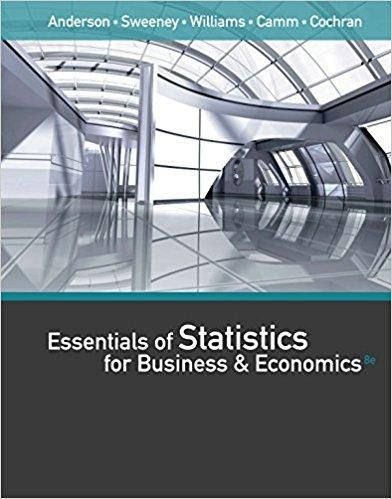 Essentials of statistics for business and economics 8th edition by essentials of statistics for business and economics 8th edition by david r anderson dennis fandeluxe Image collections