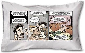 Doruktan Turan - Vize 1 - Kendin Tasarla - Yastık 45 x 27 x 10 cm