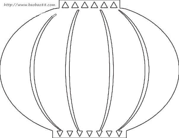 chinese new year lantern template printable - lantern template lanterns pinterest template and crafts