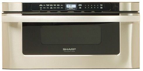 """KB-6525PS Sharp 30"""" Easy Open Microwave Drawer - Stainless Steel"""
