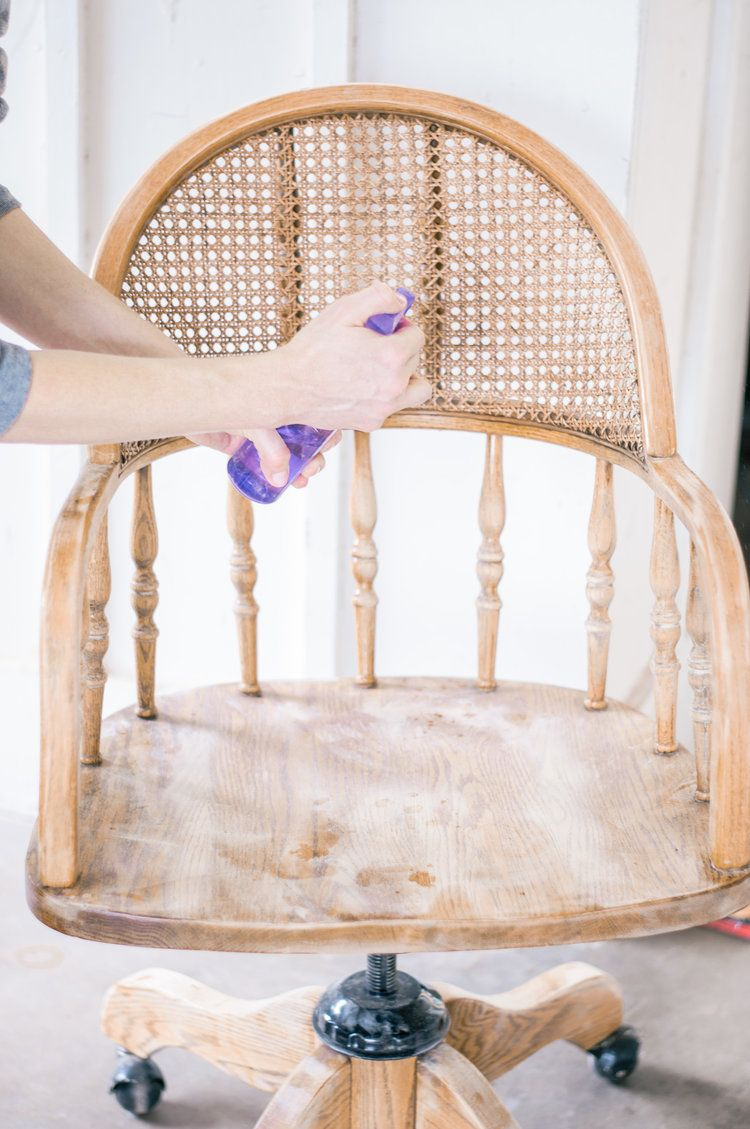 Diy painted white cane chair makeover with images cane