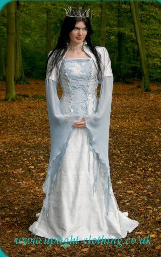Elvish Wedding Dress For unique perfume please check out: http://www ...