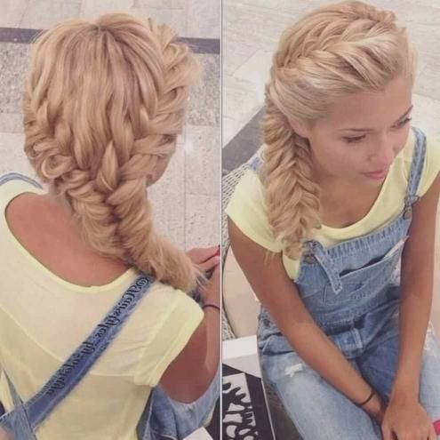 Interessante Frisuren Fur Lange Haare Zopf Frisuren 2018 Frauen Haare Interessantefrisuren Hair Styles Fish Tail Braid Braided Hairstyles Easy