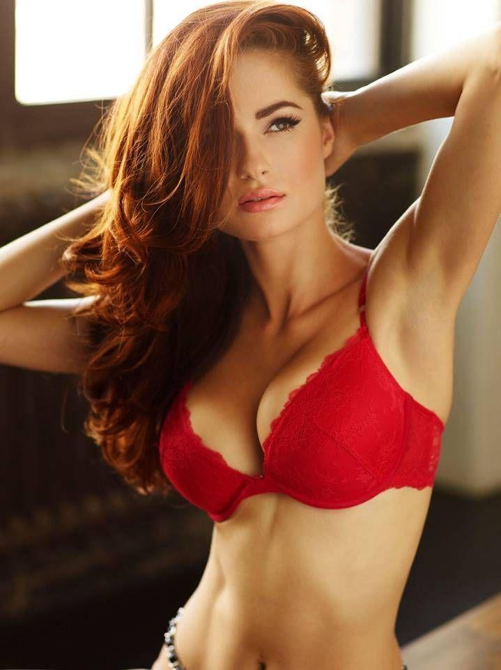 Amateur abby redhead