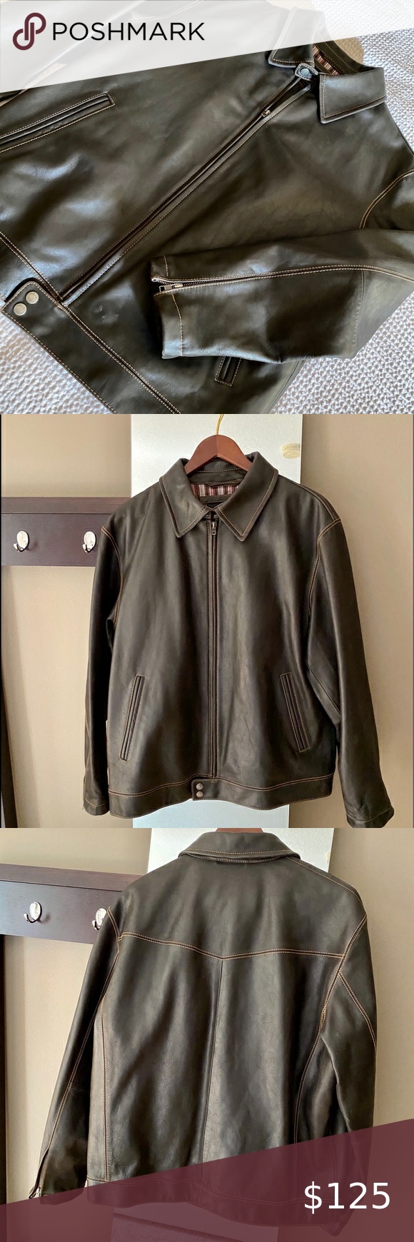 Men S Murano Leather Jacket In 2020 Leather Jacket Clothes Design Lambskin Jacket [ 1740 x 580 Pixel ]