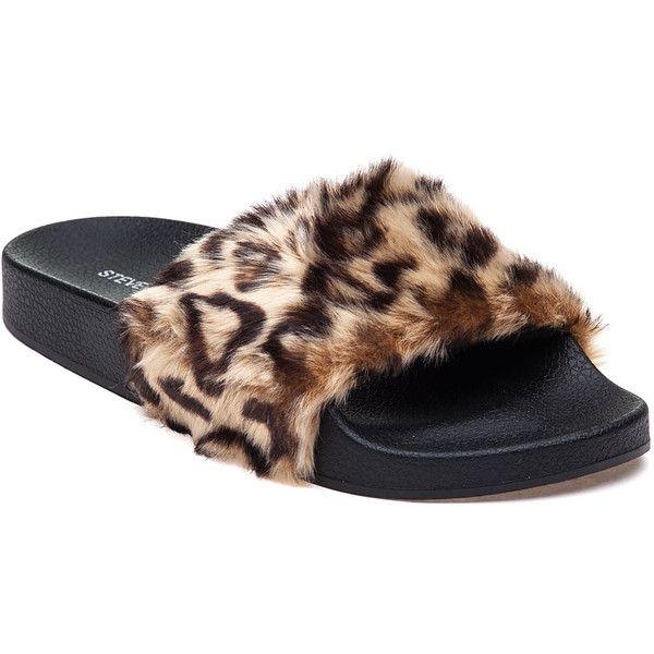 featuring shoes, sandals, leopard