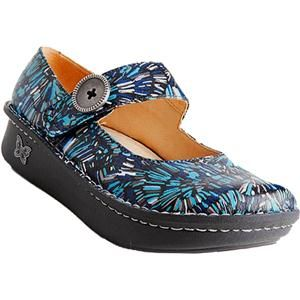 alegria paloma in blue collage  casual shoes women