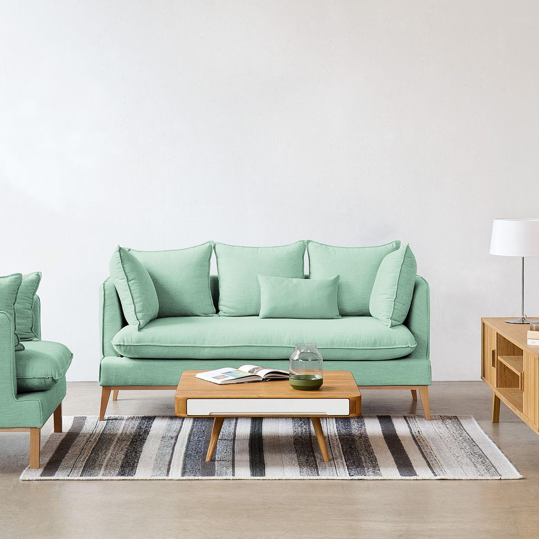 Sofa Sulviken 3 Sitzer Webstoff Home24 Sofa Sofa Design Sofa