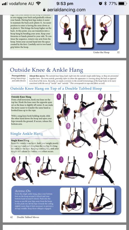 Aerial Hoop Trick Dancefitness Dance Fitness Aerial Silks