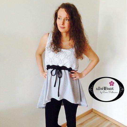#mulpix #schnittgeflüster #ebby #kleid #shirt #bellabunt #probenähen #spitze #stoffliebe #nähen #schwanger