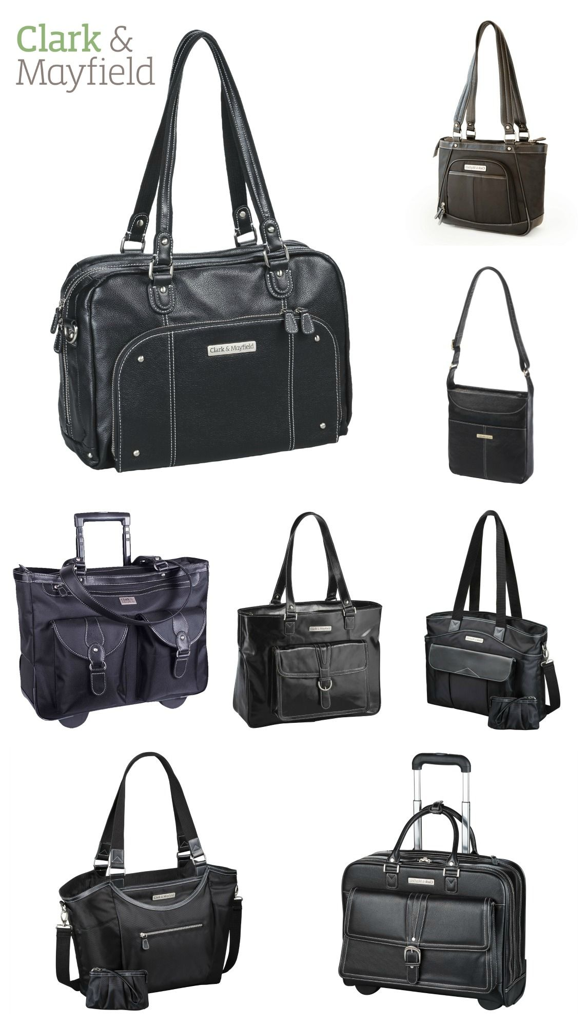 Stylish and functional carry-all laptop and tablet bags by Portland-based  Clark…