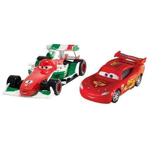 Cars 2 Exclusive Vehicle 2 Pack Francesco Bernoulli And Lightning