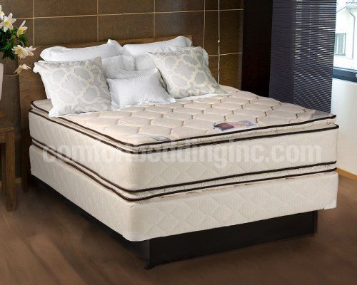 Ultimate Comfort Quilted Pillow Top Memory Foam Mattress