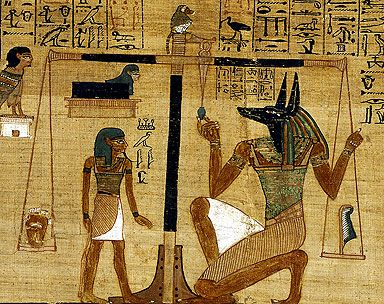 British Museum Weighing The Heart Libro De Los Muertos Egipto