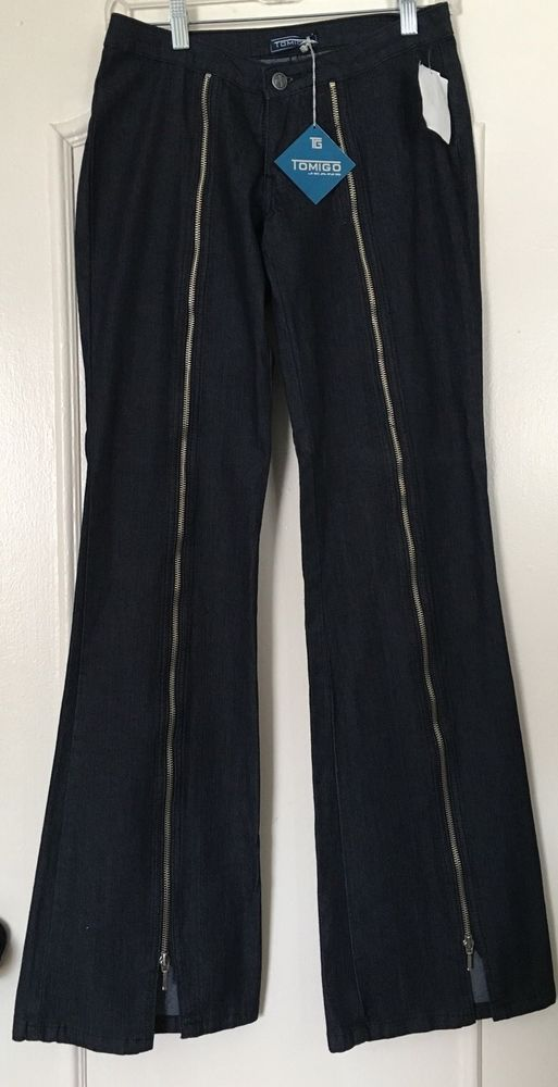 New Womens Blue Flare NEXT Jeans Size 6 Regular
