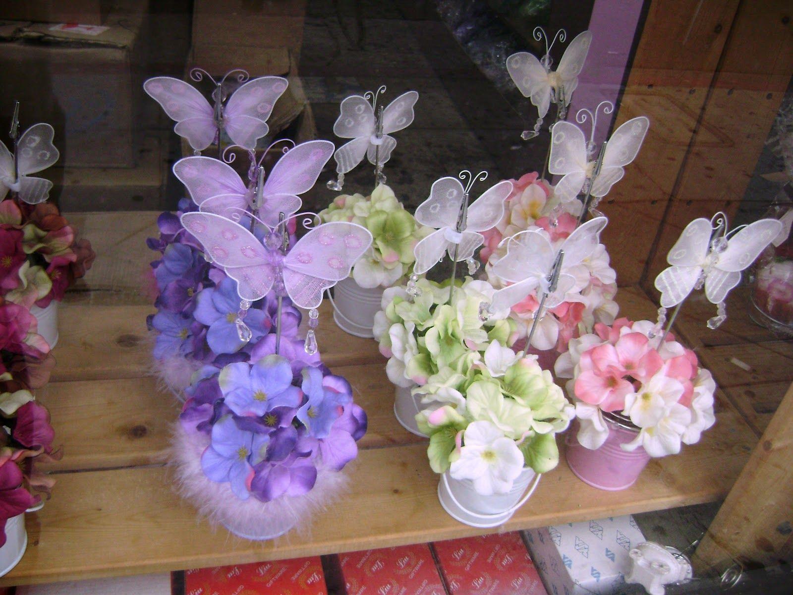 Centerpieces Ideas Butterflies