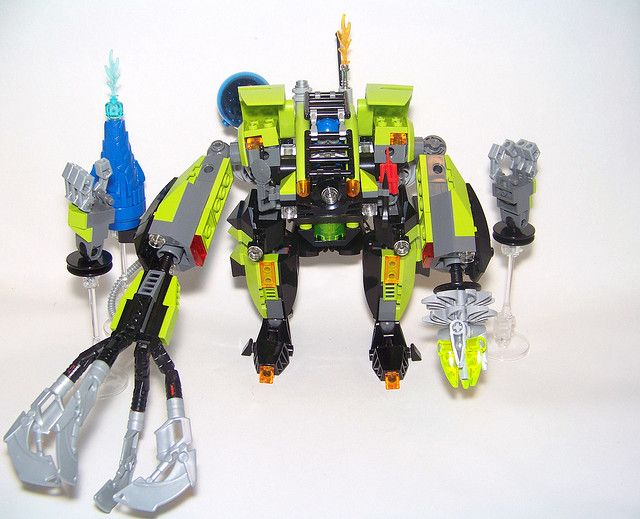 """LEGO - Power Miner - Mech - """"The Brute"""" by Slayerdread, via Flickr"""