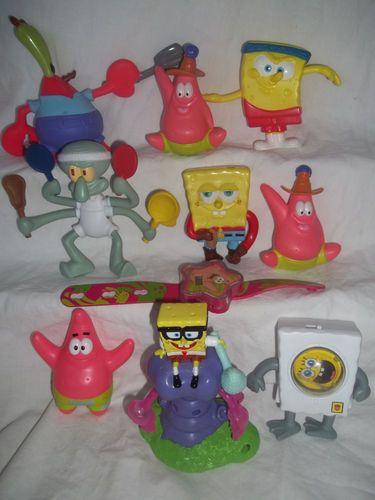Burger King Mcdonalds Sponge Bob Square Pants Viacom Toy