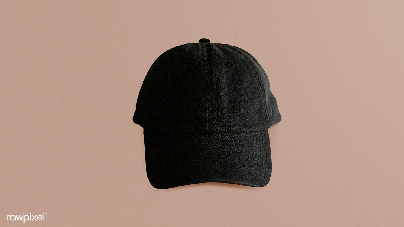 Download Black Cap Mockup On Brown Background Free Image By Rawpixel Com Felix Mockup Design Mockup Free Black Cap