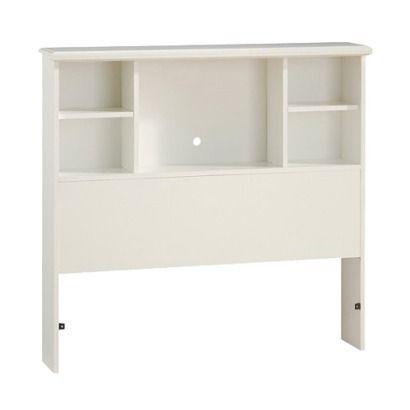 81 Sand Castle Bookcase Headboard Soft White Target Bookcase