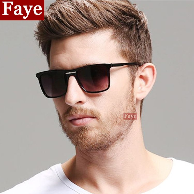 2015 new retro fashion large square sunglasses men women brand designer sun  glasses Gafas Oculos De Sol Feminino Masculino S398 130863636e