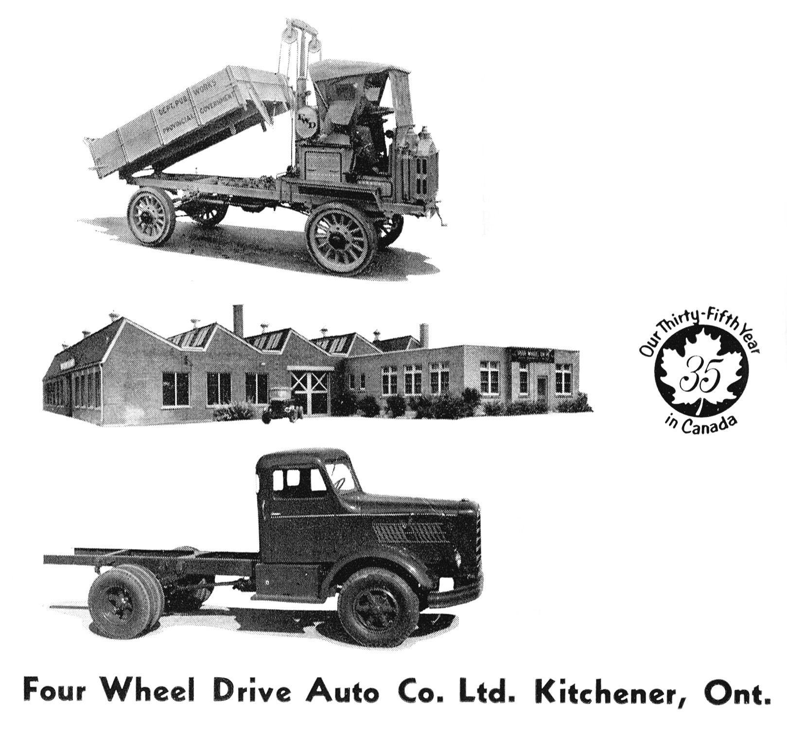 Four Wheel Drive trucks, made in Kitchener. | proyectos | Pinterest