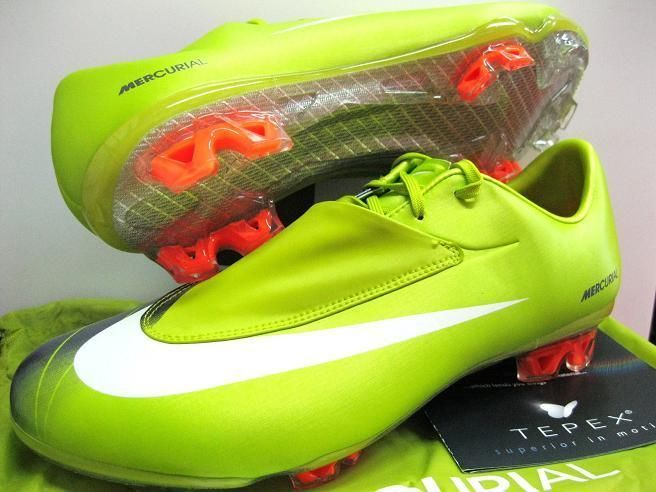 buy online 89f70 80771 The Mercurial Vapor VI FG is equipped with a glass fiber outsole plate for  greater speed when attacking the defense. Cactus green colorway!