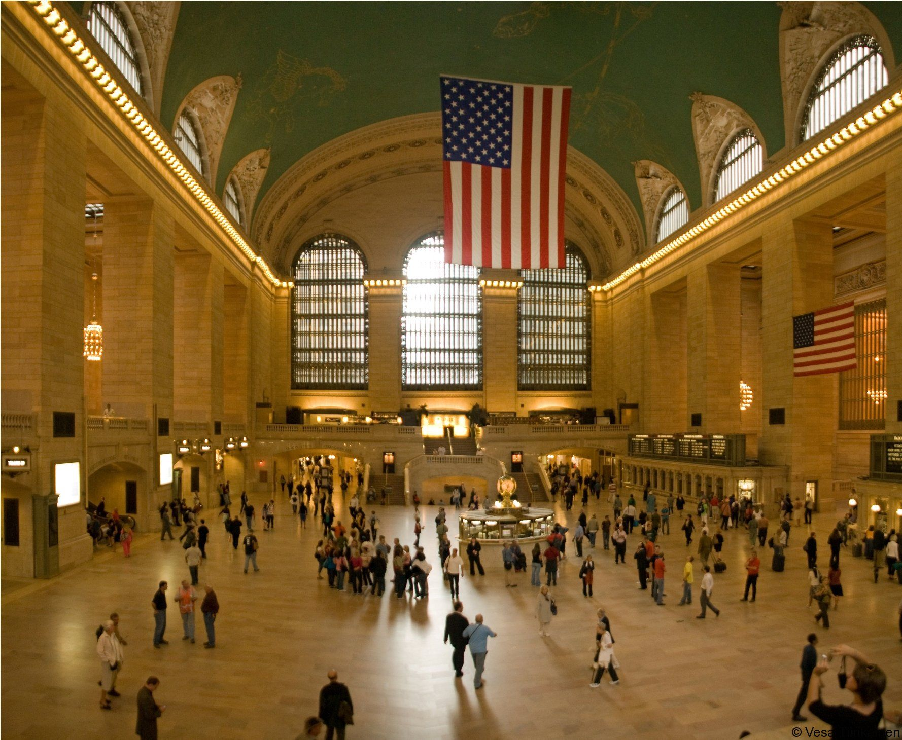 Grand Central Terminal, Manhattan - one of the most fabulous terminals of the World.