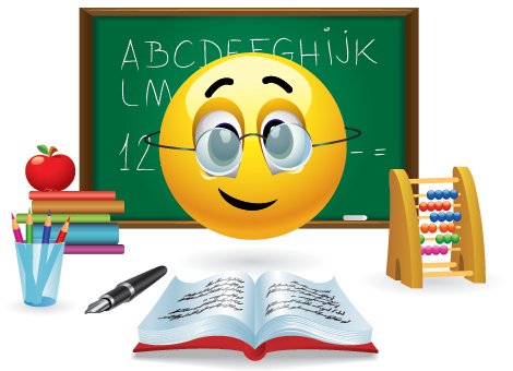 Image result for emoji teacher white face glasses girl