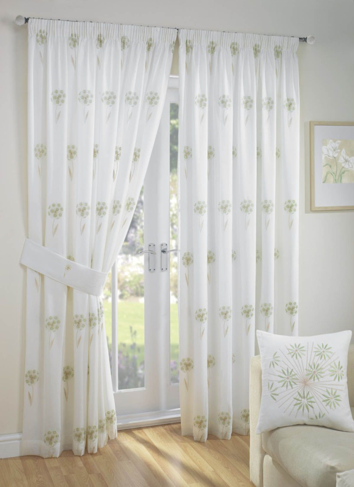 libby lined voile ready made curtain curtains blinds. Black Bedroom Furniture Sets. Home Design Ideas