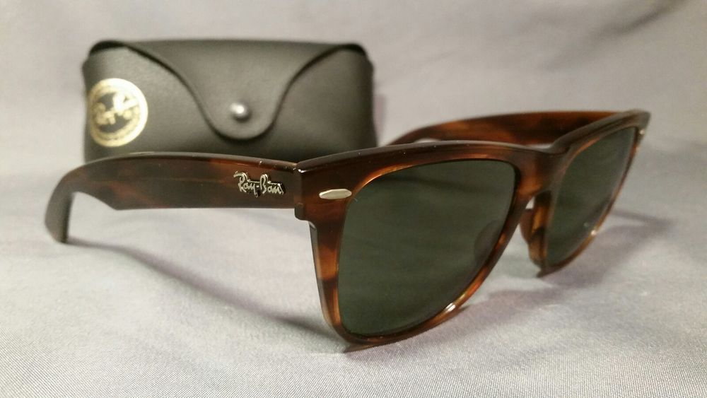 Vintage 80 S Ray Ban Wayfarer Ii Tortoise Shell Sunglasses L1725 Wsas Fashion Clothing Rayban Wayfarer Tortoise Shell Sunglasses Ray Ban Sunglasses Wayfarer