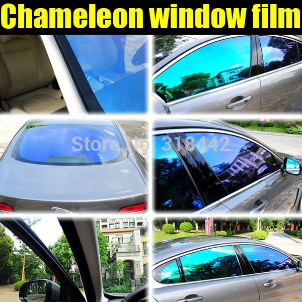 Aliexpress Txd Car Sticker New Product Car Tinted Window Vinyl Chameleon Solar Film 1 52 30m Tinted Windows Windows Window Vinyl