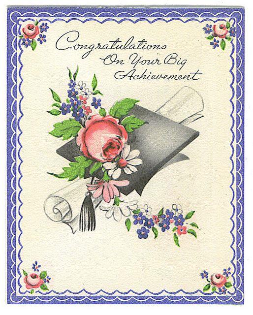 Congratulations On Your Big Achievement (card)