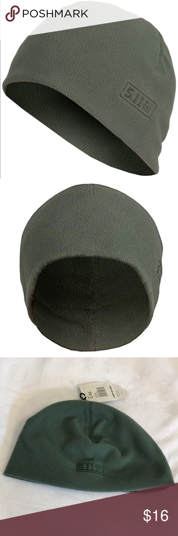 97174122d3f6c7 5.11 Tactical   Watch Cap Color is Od Green Size is L/XL Crafted from